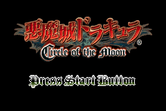 Akumajou Dracula Circle of the Moon J title.png